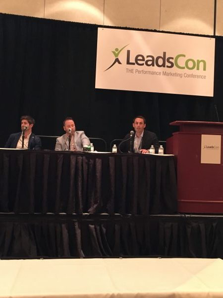 Auto Insurance Leads Supply Consolidation Panel at Leadscon 2017