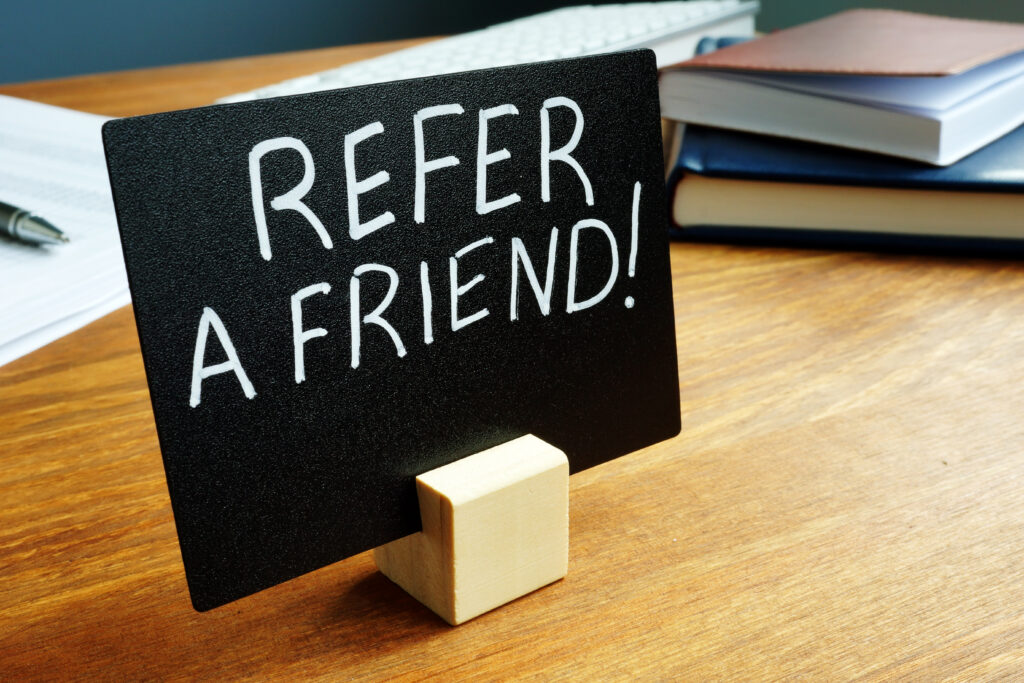 The new MediaAlpha for Agents referral program rewards insurance agents for referring their friends and colleagues to us.